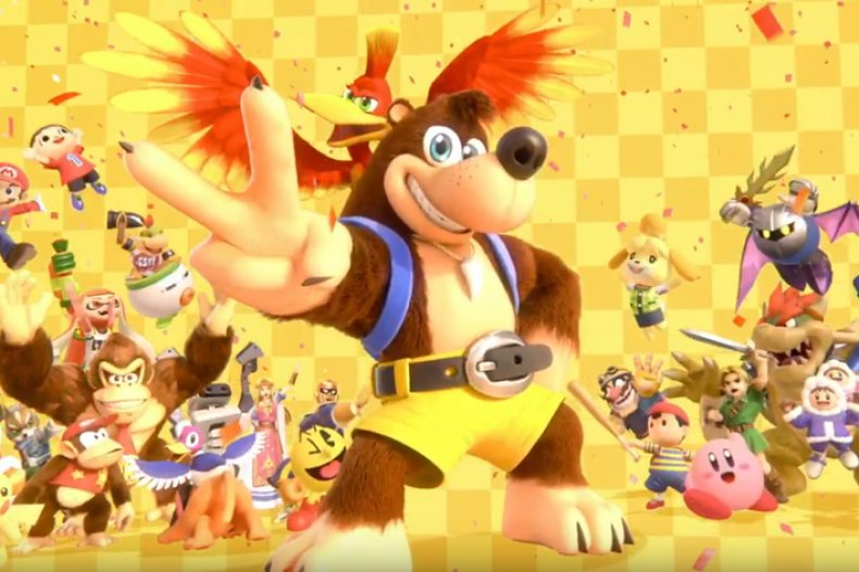 banjo kazooie smash ultimate e3 2019