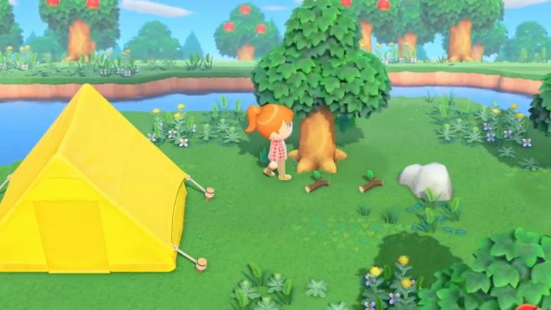 animal crossing new horizons tent