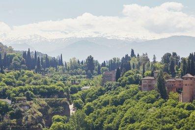 La Alhambra de Granada fortress complex
