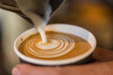 coffee cappuccino drink caffeine stock getty