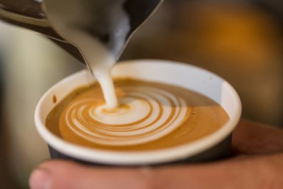 coffee cappuccino drink caffeine stock getty