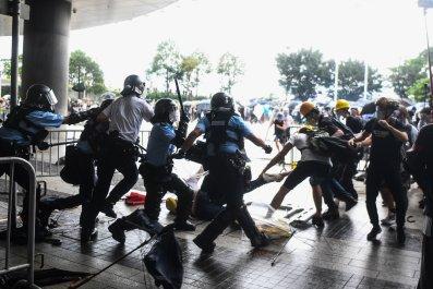 Hong Kong, China, extradition, protests, police, violence
