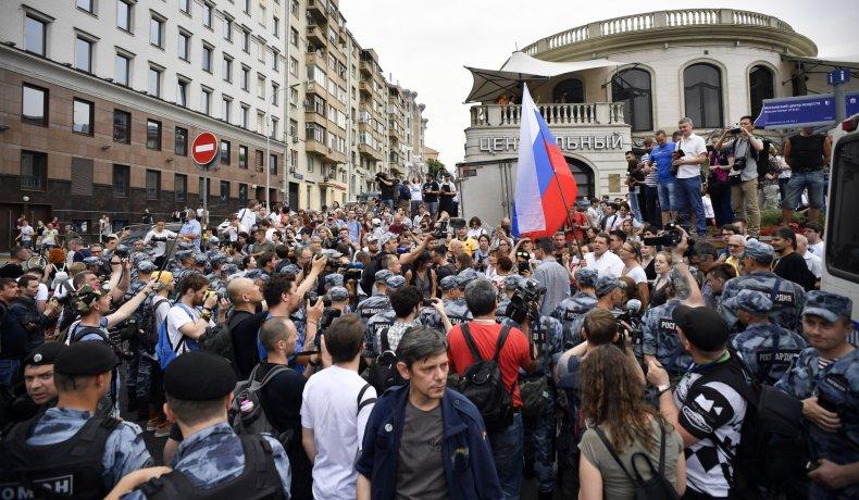 Russia, politics, media, protest