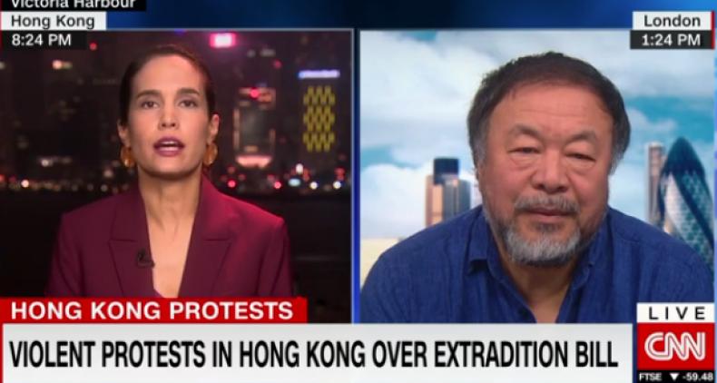 ai weiwei hong kong protests
