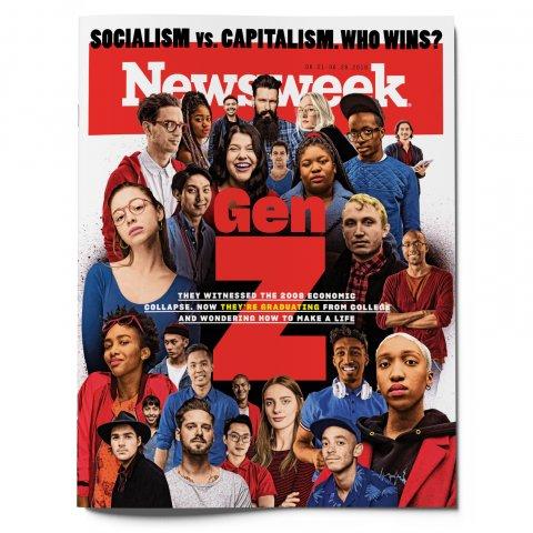 Newsweek Generation Z Cover