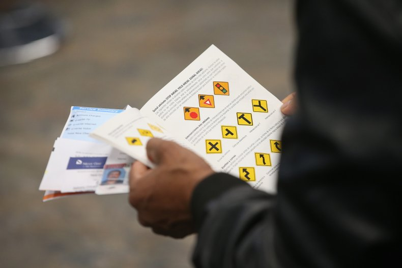 Undocumented immigrants, driving licenses
