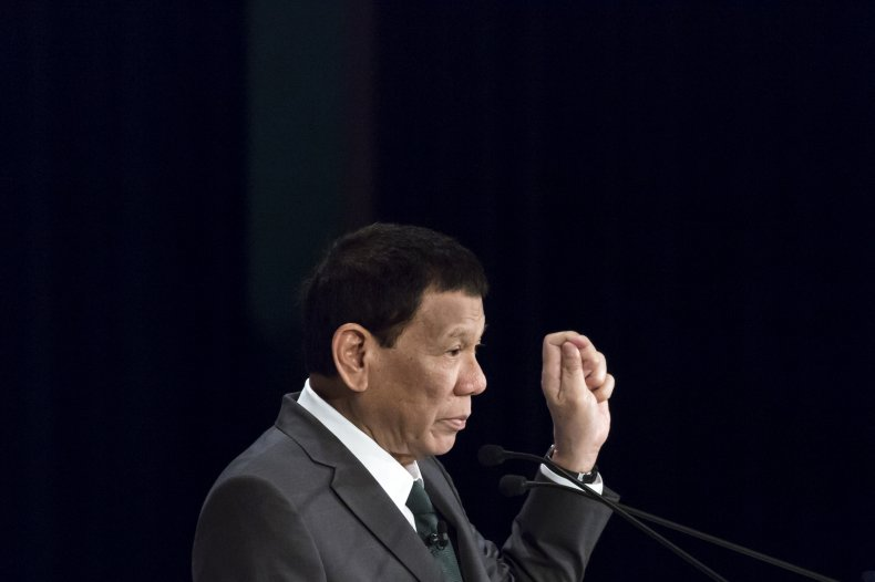 Rodrigo Duterte Philippines President Inday Sara