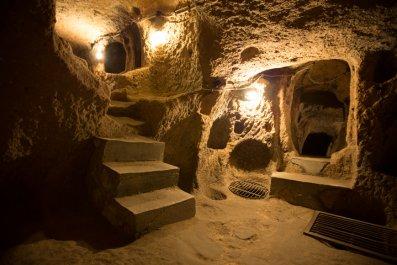 Derinkuyu underground city.