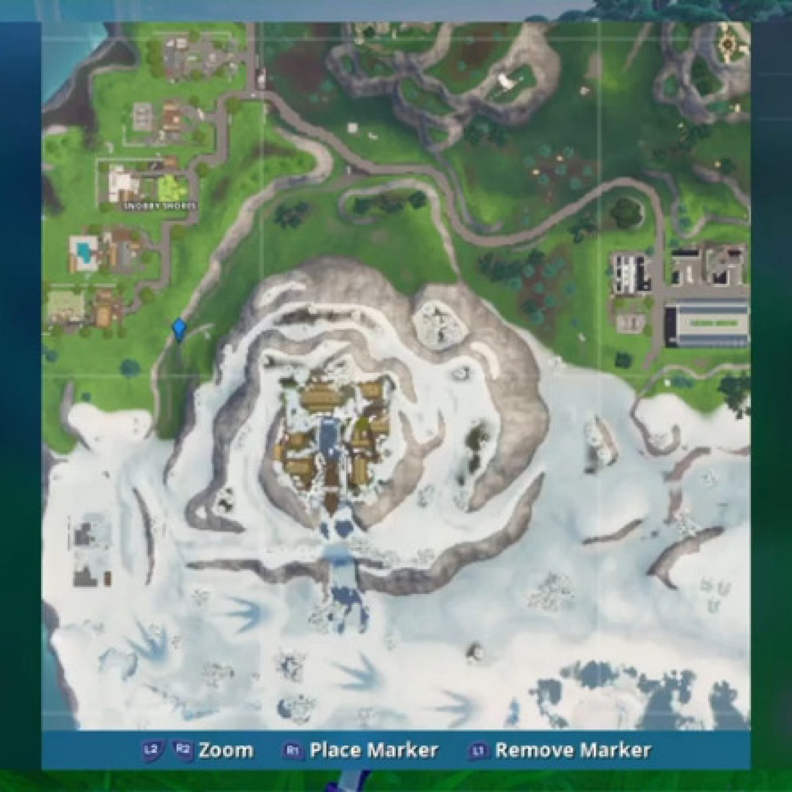 snobby shores map location
