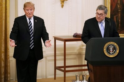william barr donald trump foreign intelligence
