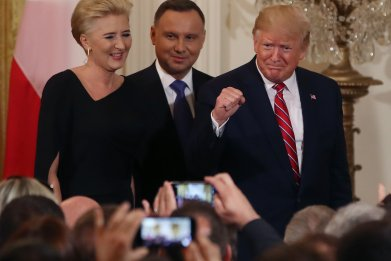 Trump Poland