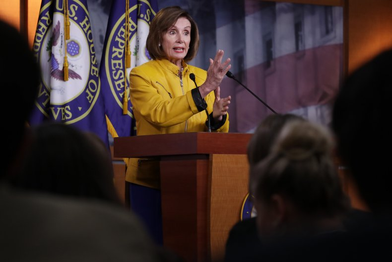 Pelosi Slams Trump for Foreign Oppo comments