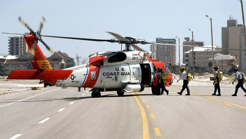 Helicopter, coast guard, rescue, cruise ship