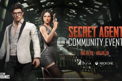 pubg secret agent event