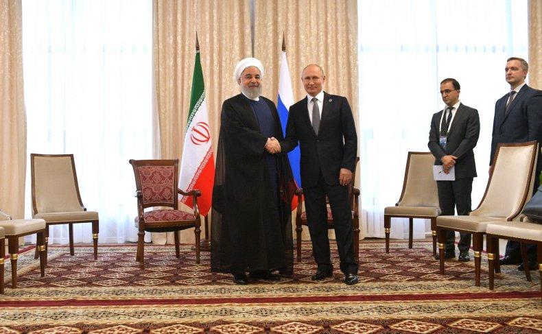 Iran Russia Rouhani Putin