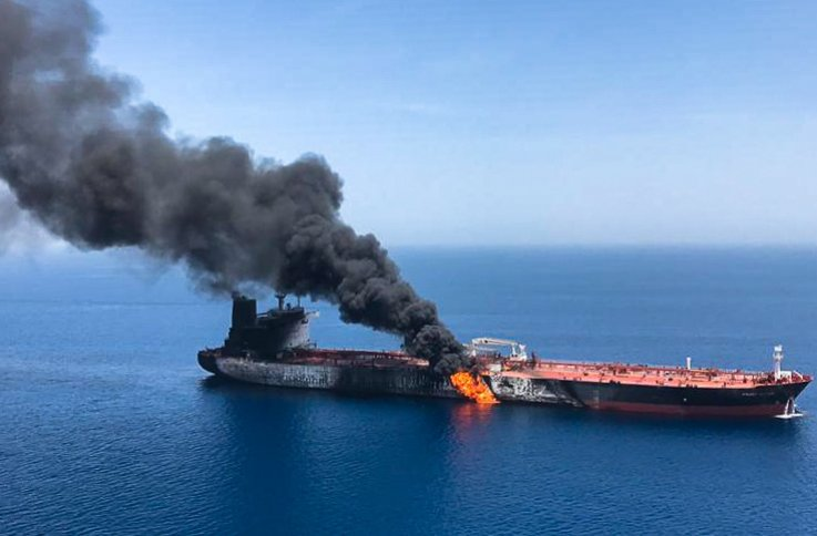 iran us gulf attack oil