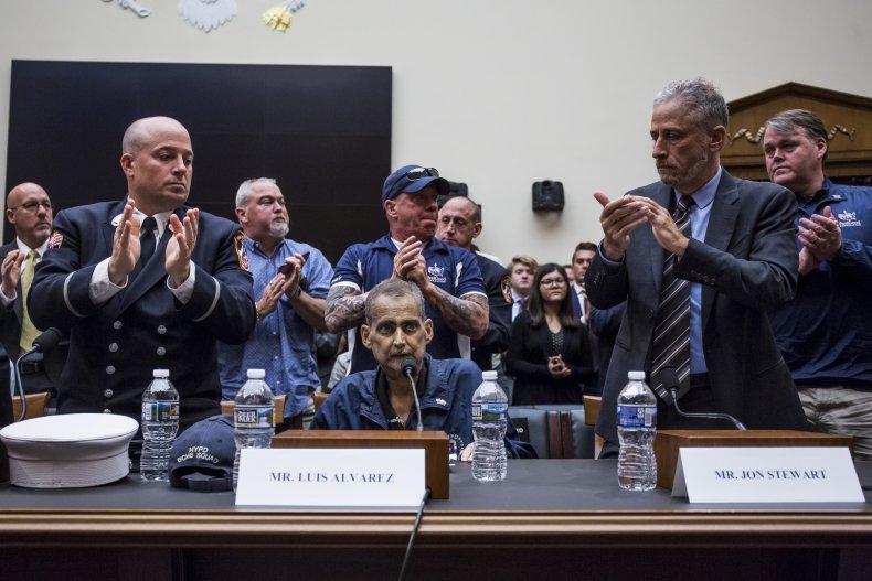 9/11 Victim Compensation Fund, Jon Stewart