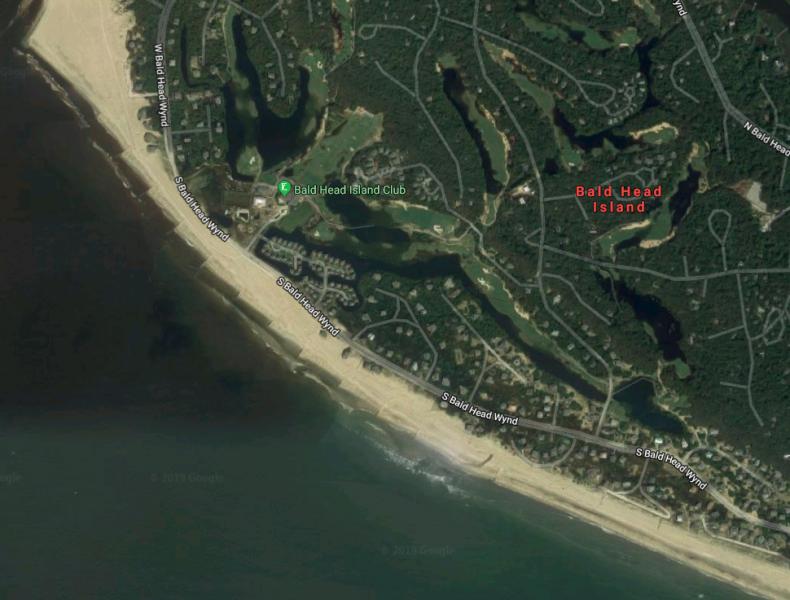 Bald Head Island-Shark Attack
