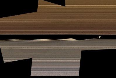 Saturn rings, Daphnis