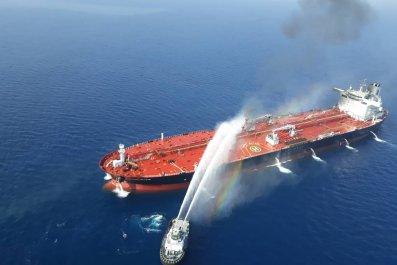Iran, U.S., Israel, tanker attacks, blame