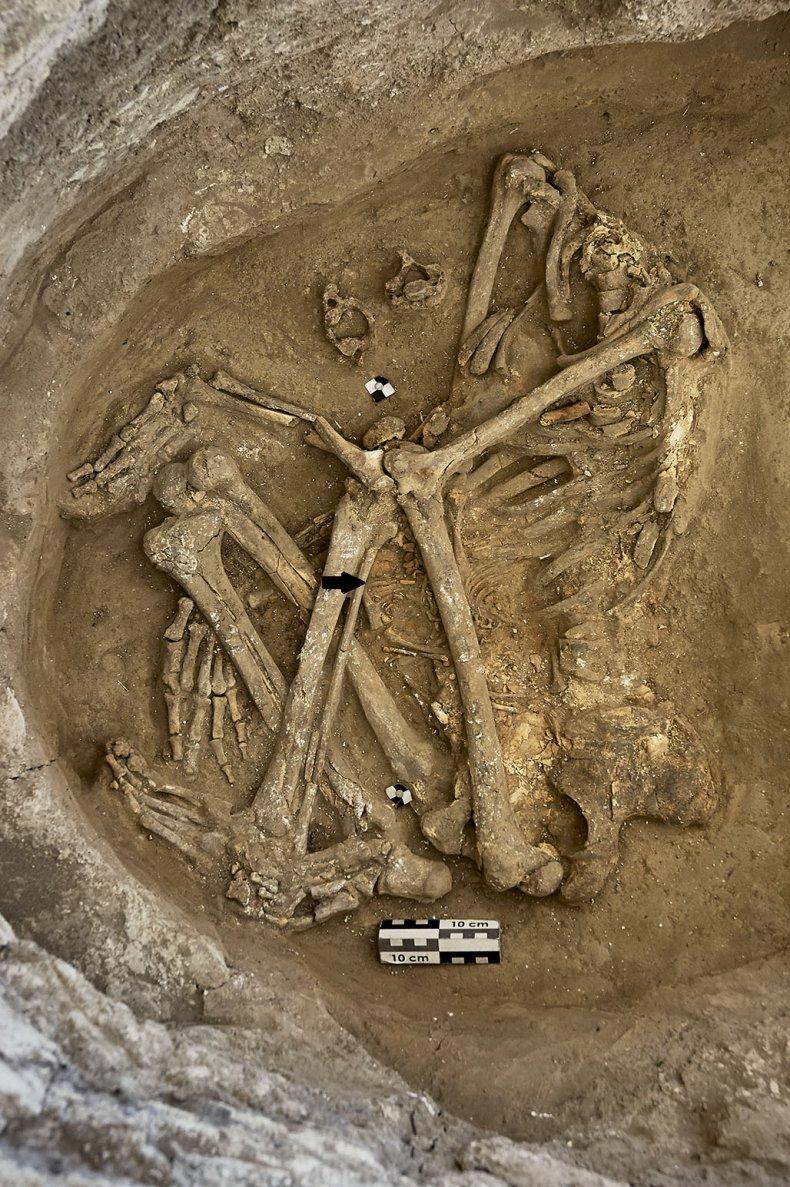 Çatalhöyük burial