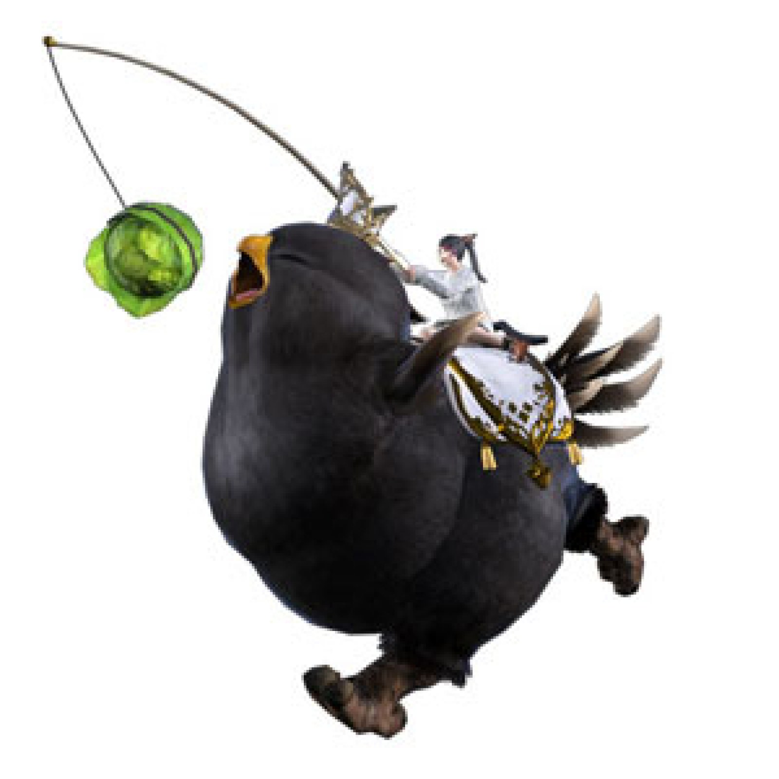 Amazon Offers 'FFXIV' Black Fat Chocobo DLC for Free During Game