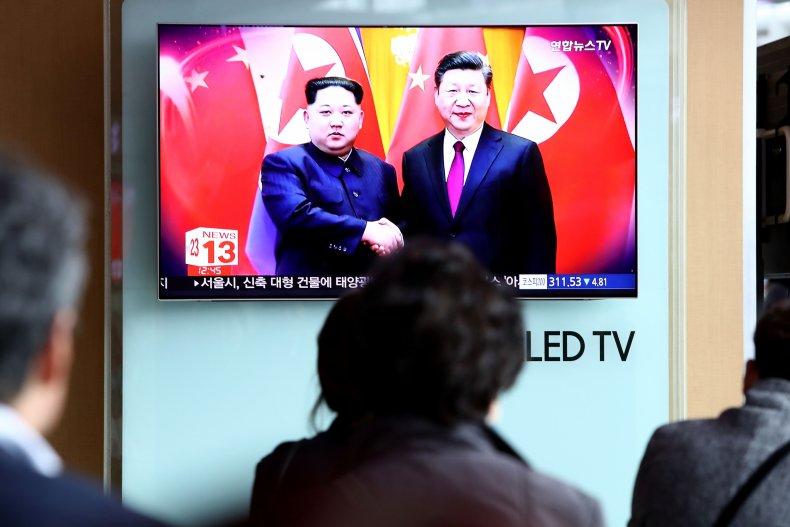 china north korea kim xi