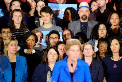 democrat voters sexism female candidates