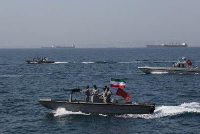 iran navy strait hormuz gulf