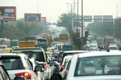 india population traffic asia