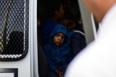 Migrant boy Mexico