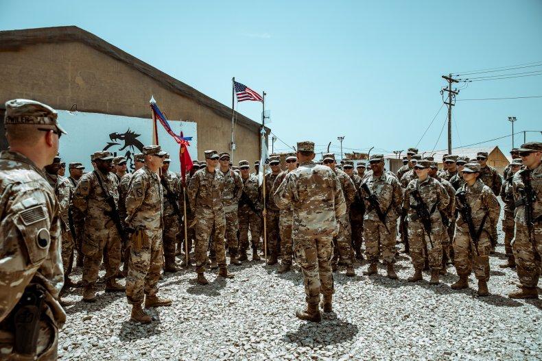 iraq military base iran unrest