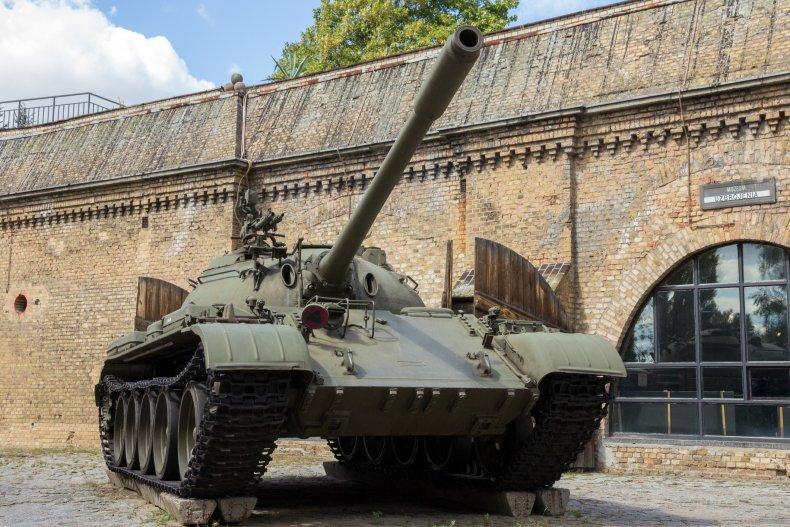 polish tank t-55