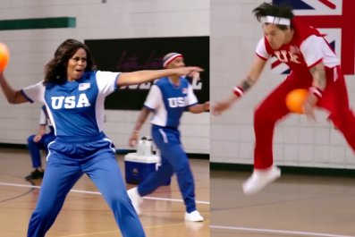 Michelle Obama Harry Styles