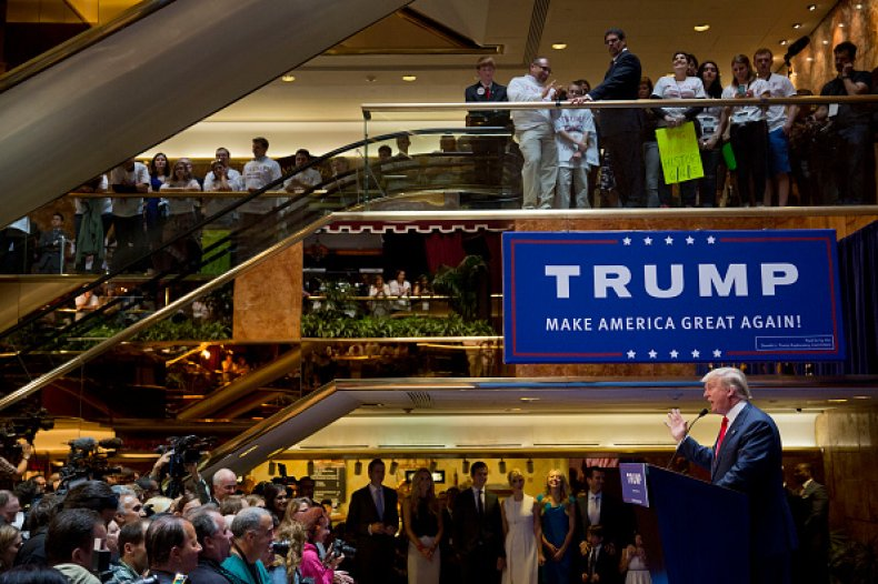 donald trump 2016 candidacy announcement