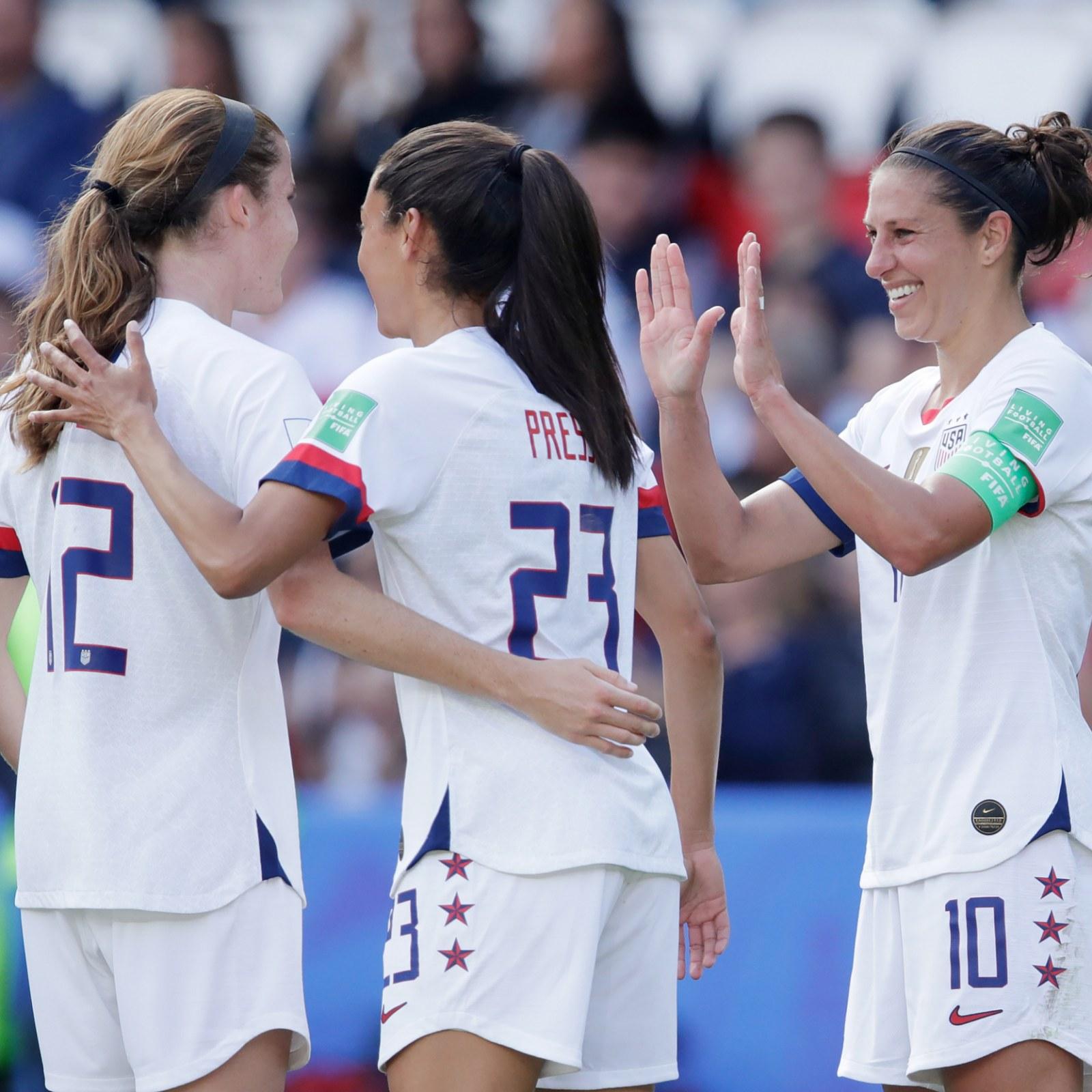 Women's World Cup 2019: Round of 16 Schedule, Power Rankings