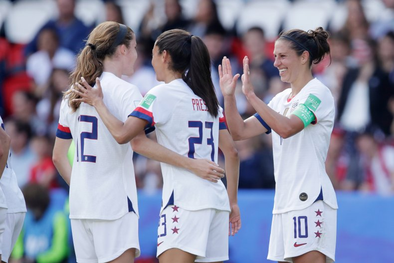 USWNT, FIFA Women's World Cup