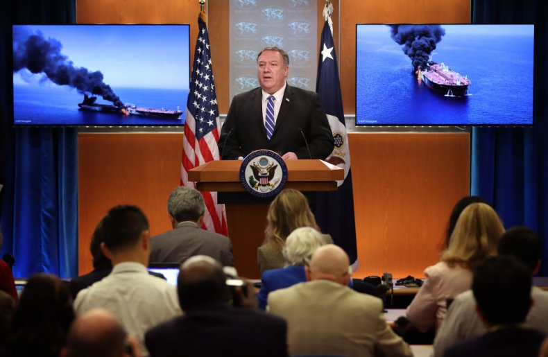 Mike Pompeo accuses Iran of attacks