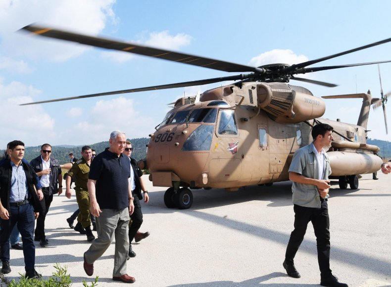 israel netanyahu military drills threat
