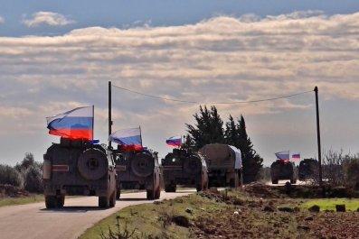 russia military north syria turkey