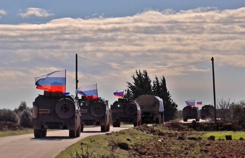 russia military north syria turkey