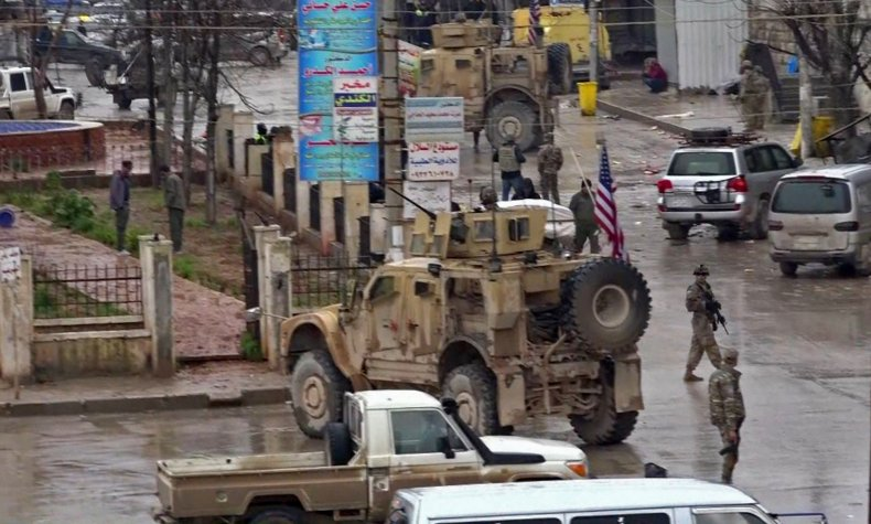 syria us military attack blast