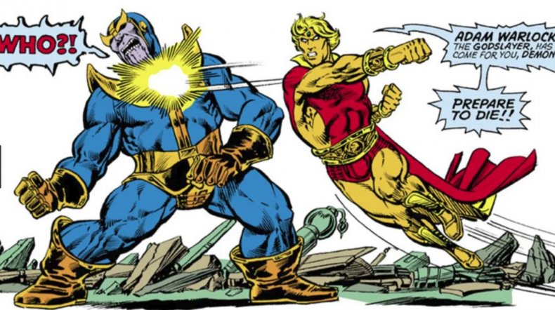 Adam Warlock Thanos