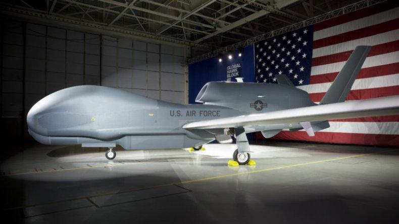 us drone global hawk iran