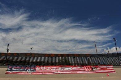 Flag Rio Grande Border