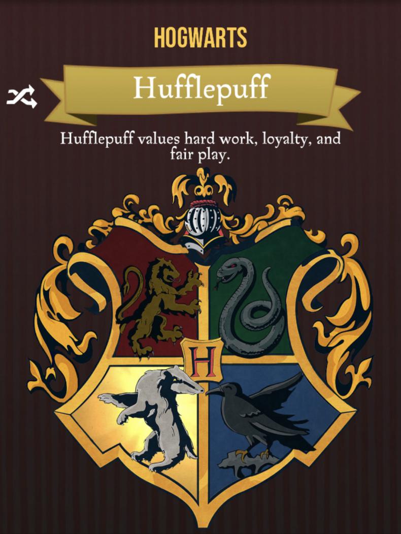 harry potter wizards unite house traits