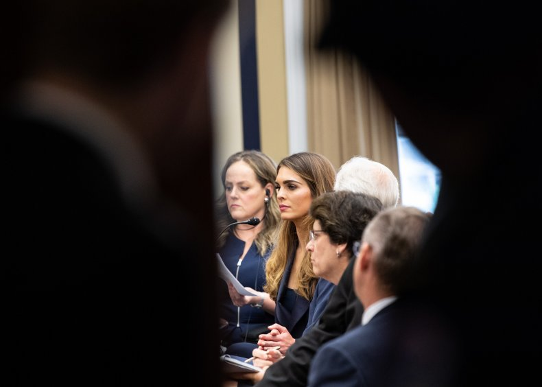 Hope Hicks surprised by Trump Russia contacts