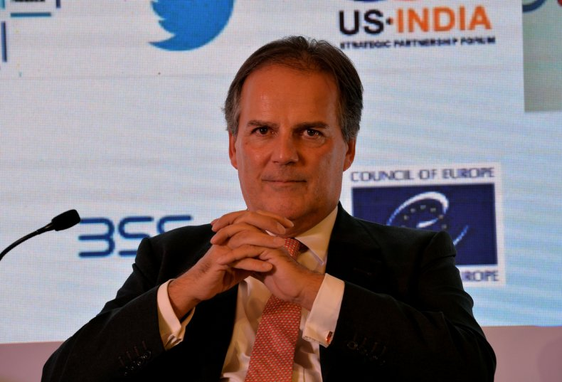 UK foreign minister Mark Field