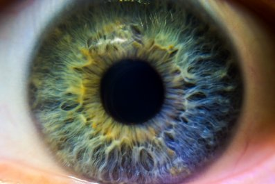 eye close up stock getty