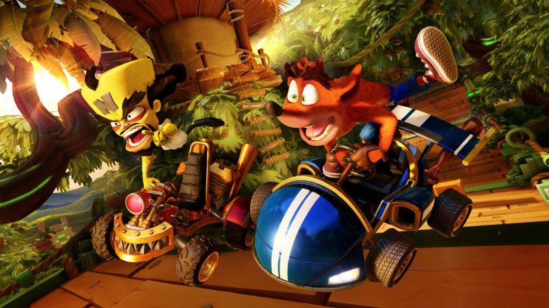 Crash Team Racing Nitro-Fueled! Bandicoot Neo Cortex